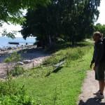 Filosoferande strax efter starten i Båstad