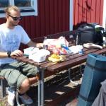Välsmakande lunch i Kattvik