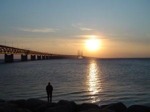 oresundsbron_by_night